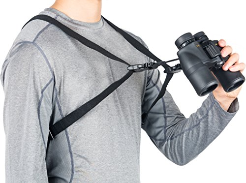 Think Ergo Binocular Harness Strap - Quick Release, Universal, One Size Fits All Bino Sling Strap by Think Ergo