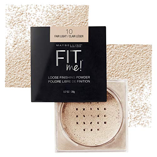 Maybelline New York Fit Me Loose Finishing Powder, Fair Light, 0.7 oz. (Best Loose Powder For Combination Skin)