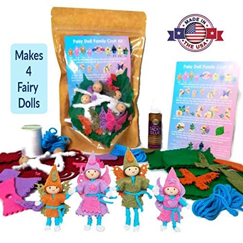Wildflower Toys Fairy Doll Kit Light Skin