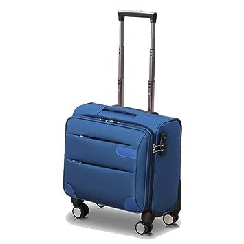 Flight Case Maleta con Portaequipajes, Maletero, Compartimento para Ordenador PortáTil, 16 Pulgadas, Ruedas De Equipaje De Negocios, Tela Oxford: Amazon.es: ...