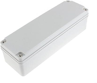 250mm x 80mm x 70mm Plástico Impermeable Sellado Caja De ...