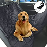 Cheap Auelife Pet Seat Cover for Cars, Truck and SUV-Waterproof and Non-Slip Dog Car Seat Hammock,Black