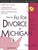 How to File for Divorce in Michigan, Edward A. Haman, 157248215X