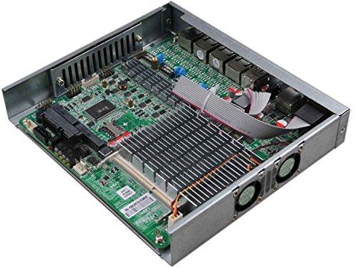 Solana Tech Barebones Mini ITX pfSense firewall router with 4x Intel