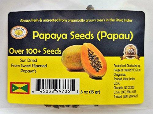 Papaya paw paw organic seeds