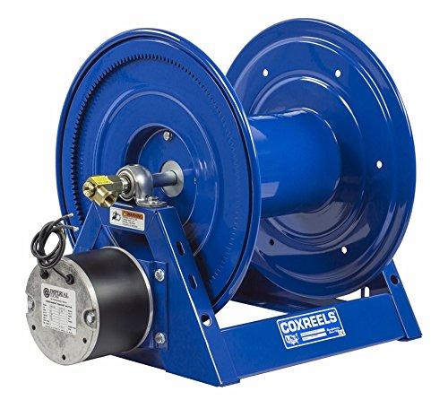 Coxreels Hp1125 4 500 E 12 Vdc 1 3 Hp Motorized Hose Reel 1 2  X 500 5000 Psi