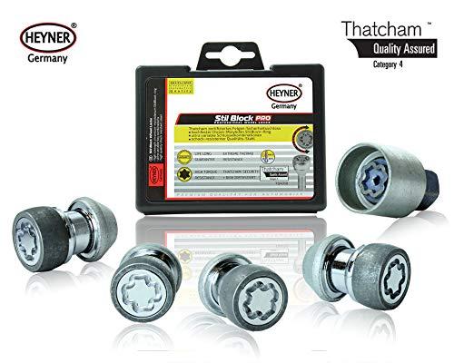 Discovery 3 2004-2009 Heyner Germany Locking Wheel Nuts Set 4 Removal Key Car Security Locks Anti-theft 863//5-RR M14x1.5