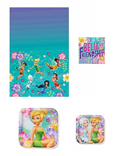 Tinkerbell - Best Friend Fairies Party Pack for 8 Guests