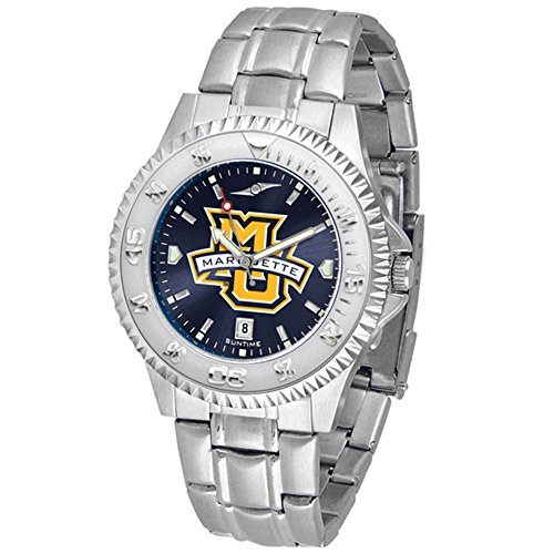 - Marquette Golden Eagles Competitor Steel AnoChrome Men's Watch