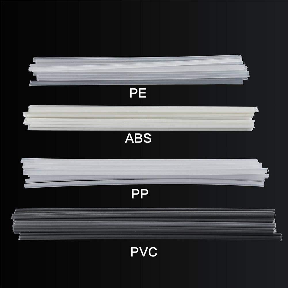 Sensecrol Palillos de Soldadura plásticos de ABS/PP/PVC/PE de Las Barras de Soldadura 50pcs para el Soldador plástico: Amazon.es: Hogar