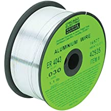0.030 in. ER-4043 MIG Aluminum Solid Welding Wire, 1.1 lbs. New 90 Day Warranty