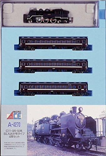 マイクロエース Nゲージ C11-325・50系「SLもおか号」タイプ4両セット A4270 鉄道模型 蒸気機関車の商品画像