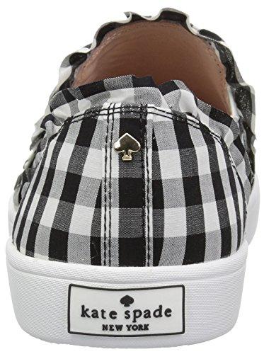 Kate Spade New York Kvinders Lilly Sneaker Sort / Hvid Gingham Stof tZQk3