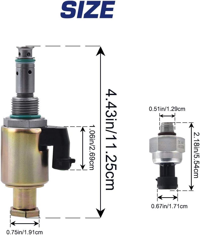 SPELAB 7.3 IPR /& ICP Fuel Injection Pressure Regulator Control Sensor for 1997-2003 Ford 7.3L V8 Powerstroke Diesel Econoline Excursion Super Duty F250 F350 F450 F550 F650 F750 E350 E450 E550
