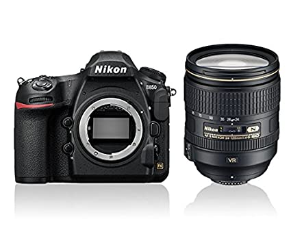 Nikon D850 DSLR (With AF-S NIKKOR 24-120MM..