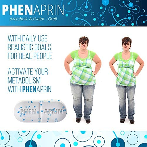 PhenAprin Diet Pills – Best Appetite Suppressant: Weight Loss and Energy Boost for Metabolism – Optimal Fat Burner Supplement; Helps Curb and Control Appetite, Promotes Mood & Brain Function 6