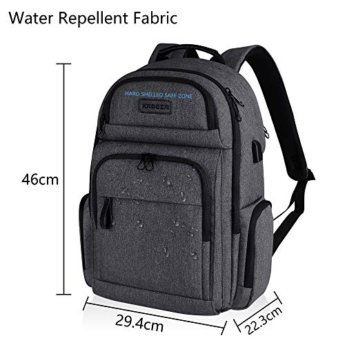 Backpack with RFID pockets