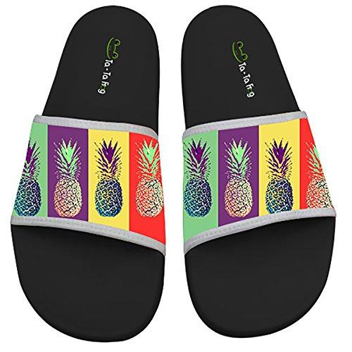 TA-TA FROG Pineapple Anti-skidding Beach And Pool Flip Flops Sandals