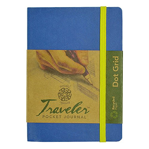 Pentalic Art Travelers Dot Grid Sketch Book Acid Free