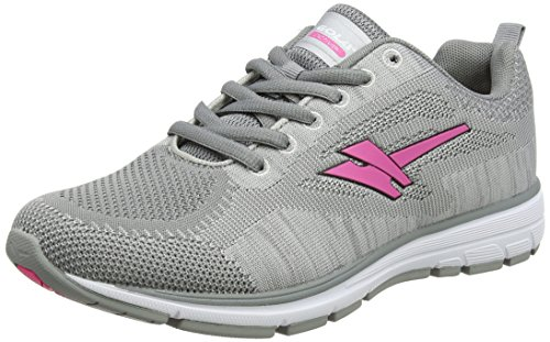 Gola Women's Fortuna Running Shoes Grey (Grey/Pink) FddDBxe3