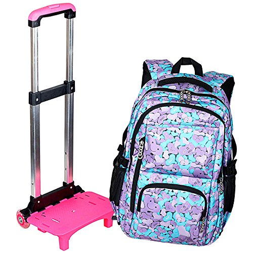 trolley backpack for girls - 6