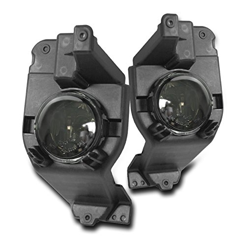 - ZMAUTOPARTS Bumper Driving Fog Lights Lamps Smoke For 2011-2015 Ford Explorer