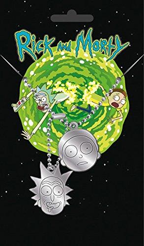Rick and Morty - Dogtag / Pendant (Rick and Morty)
