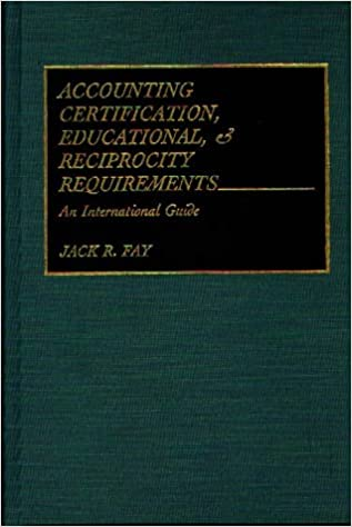 Accounting Certification, Educational, and Reciprocity Requirements ...