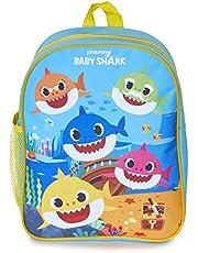 Pinkfong Baby Shark småbarnsryggsäck med musik | rolig musikalisk ryggsäck för barn - It play the berömda Baby Shark Song! Barn ryggsäck för barnkammare, dagis, förskola för pojkar eller flickor