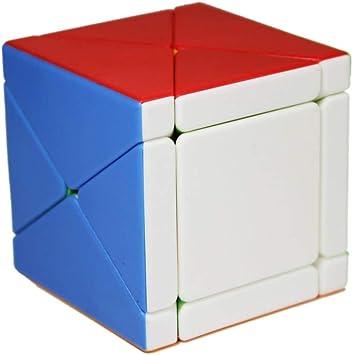OJIN MoYu MOFANGJIAOSHI Cubing Classroom MFJS Fisher Skewb Cube Cubo Creativo Smooth Magic Cube Puzzle (Sin Etiquetas): Amazon.es: Juguetes y juegos