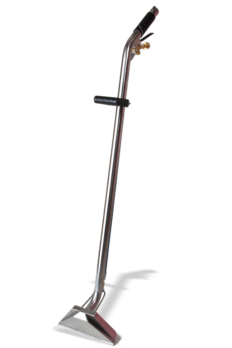 GlideMaster Stainless Dual Jet S-Bend Carpet Cleaning Wand