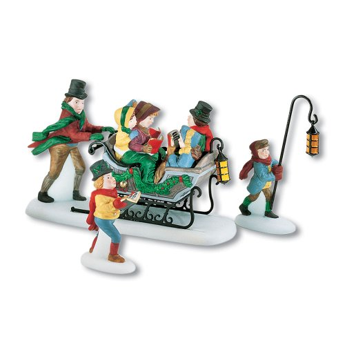 Department 56 Dickens A Christmas Carol Caroling With The Cratchit Family (Revisited) (Christmas Figurine Set Caroling)