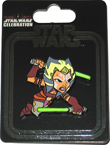 Ahsoka Tano Costume Child (Star Wars Celebration 2017 Orlando Exclusive Ahsoka Tano Enameled Metal Cloisonné Pin)