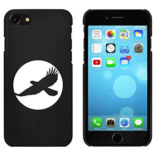 Noir 'Cercle de Faucon' étui / housse pour iPhone 7 (MC00065035)