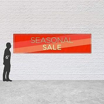 CGSignLab 16x4 Modern Diagonal Heavy-Duty Outdoor Vinyl Banner Seasonal Sale
