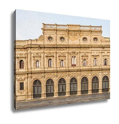 Ashley Canvas, View At The Building Of City Hall In Sevilla Spain, Home Decoration Office, Ready to Hang, 20x25, AG6527308 by Ashley Canvas