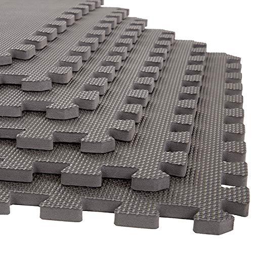 Stalwart 6 PK Interlocking EVA Foam Floor MATS