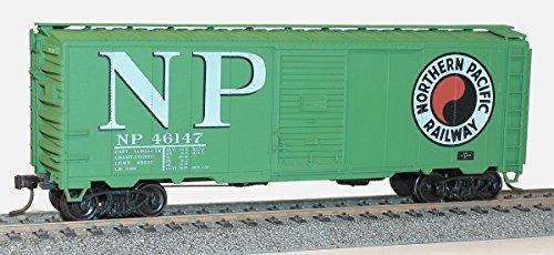Ho 40' AAR Steel Single Door Boxcar Northern Pacific (Aar Door Boxcar Single)