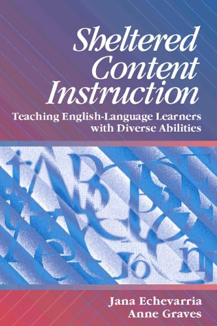 Buy Sheltered Content Instruction Teaching English Language Learners With Diverse Abilities Book Online At Low Prices In India Sheltered Content Instruction Teaching English Language Learners With Diverse Abilities Reviews Ratings Amazon In