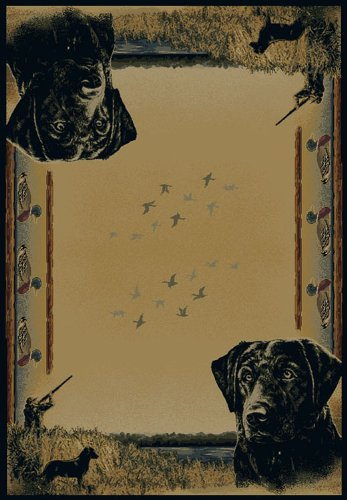 Duck Rug (DUCK HUNTER Rug from the BUCKWEAR Collection (23 x 88) by United)