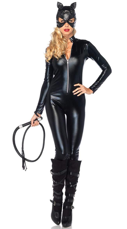 Lovelegis Größe L - Katzewoman Kostüm Katze schwarz KatzeWoman Girl - Sexy - Verkleidung Karneval Halloween Cosplay Zubehör - Schwarz B07MTKSF77 Kostüme für Erwachsene Verpackungsvielfalt    | Niedriger Preis