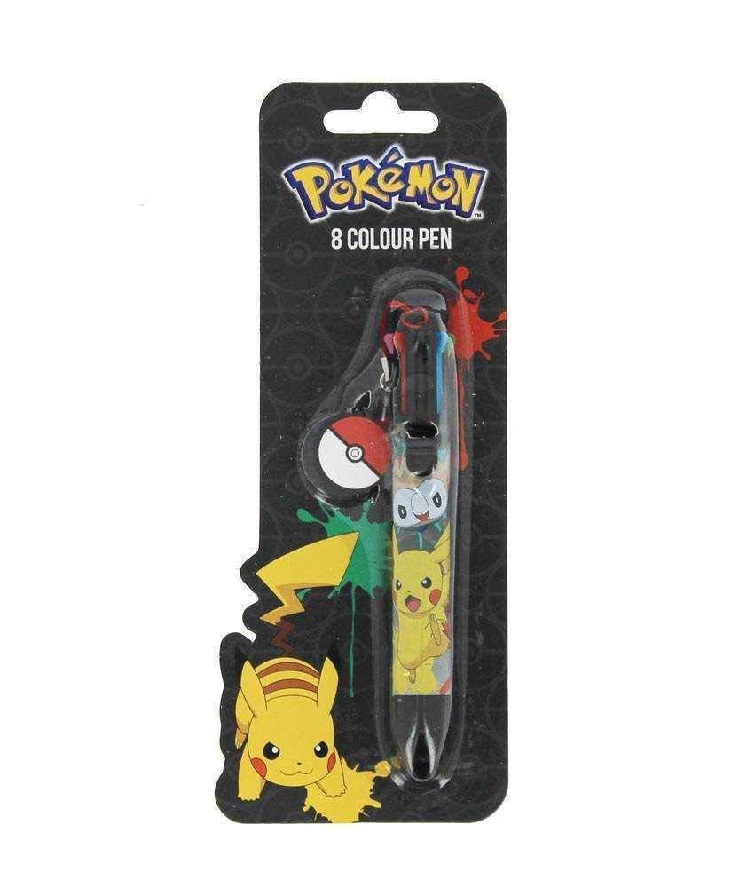 /école papeterie Pokemon officiel je te choisis stylo d/écriture multi-couleur
