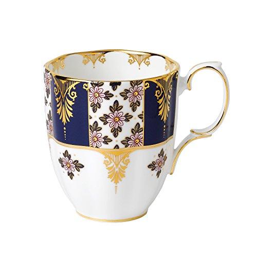 - Royal Albert 100 Years 1900 Mug, 14.1 oz, Regency Blue