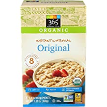 365 Everyday Value, Organic Instant Oatmeal Original, 1.41 Ounce, 8 Count