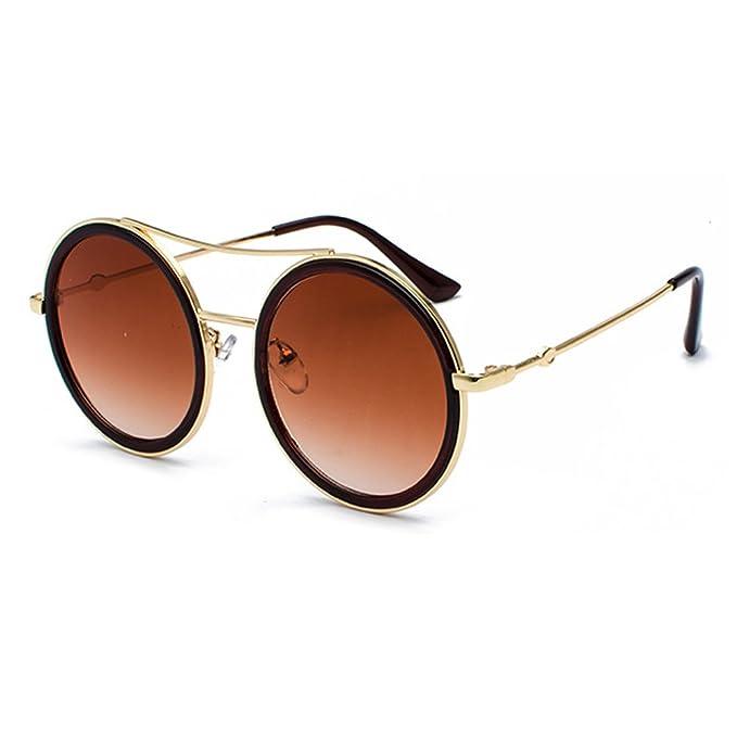 Gafas de sol redondas de gran tamaño para las mujeres ...