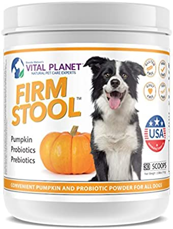 Vital Planet - Firm Stool - Eliminates Dog Diarrhea and Gas
