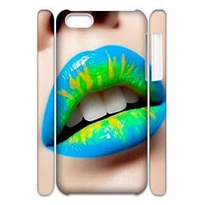 V-T-C5099587 3D Art Print Design Phone Back Case Customized Hard Shell Protection Iphone 5C