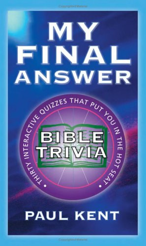 My Final Answer: Bible Trivia