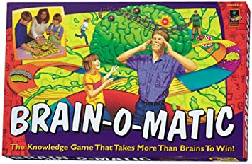 DaMert Company Brain-O-Matic - Juego de Mesa de Trivia Electrónico: Amazon.es: Juguetes y juegos