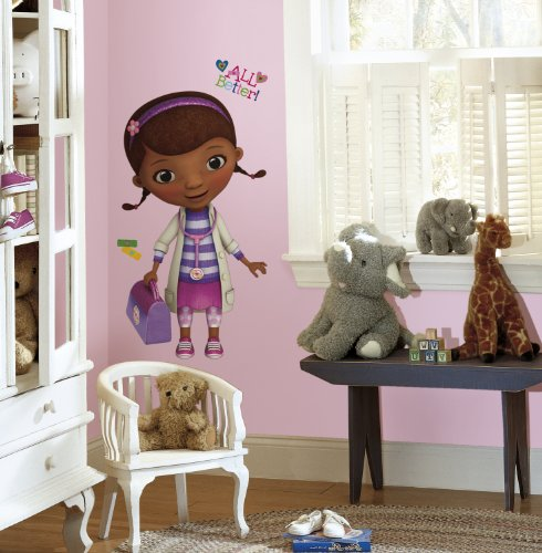 RoomMates RMK2283GM Doc McStuffins Peel and Stick Giant Wall Decals